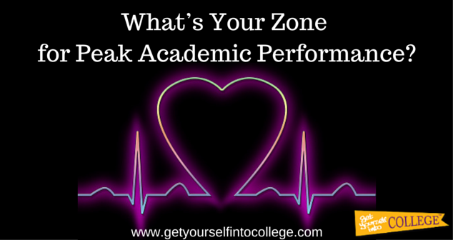 What's Your Zone for Peak Academic Performance?