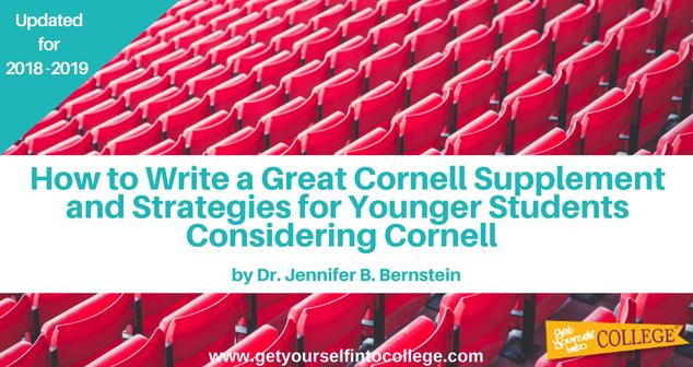 Cornell essay contest